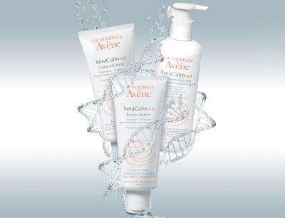 Limpiar la piel atópica